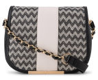 Kardashian Kollection Wave Of Emotion Crossbody Bag - Black/Beige 1