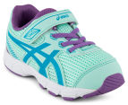 ASICS Toddler GT-1000 5 TS Shoe - Mint/Blue Jewel/Orchid 2