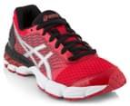 ASICS Grade-School Kids' GEL-Nimbus 18 Shoe - True Red/Silver/Black 2