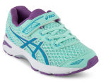 ASICS Pre-School Kids' GT-1000 5 Shoe - Mint/Blue Jewel/Orchid 2
