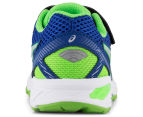ASICS Pre-School Kids' GT-1000 5 Shoe - Blue/White/Green Gecko 4