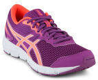 ASICS Grade-School Kids' GEL-Zaraca 5 Shoe - Orchid/Flash Coral/White 2
