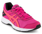 ASICS Grade-School Kids' GEL-Galaxy 9 Shoe - Sport Pink/Flash Coral/Black 2
