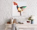 Hummingbird 50x50cm Oil On Canvas Wall Art 2