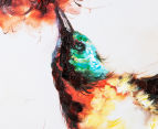 Hummingbird 50x50cm Oil On Canvas Wall Art 4