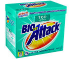 2 x Biozet Attack Top Loader Laundry Powder 1kg 2