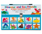Dinosaur & Sea Friends 10 Early Learning Books 1