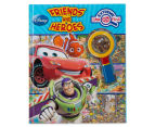 Disney Friends & Heroes Extreme Look And Find Book 1