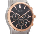 Kenneth Cole Men's 40mm Chronograph Watch - Silver/Rose Gold 2