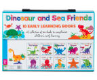 Dinosaur & Sea Friends 10 Early Learning Books 2