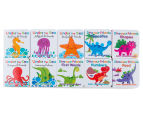 Dinosaur & Sea Friends 10 Early Learning Books 4