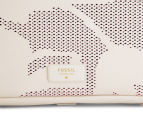 Fossil Women's Emerson Perforated Satchel - Coconut 4