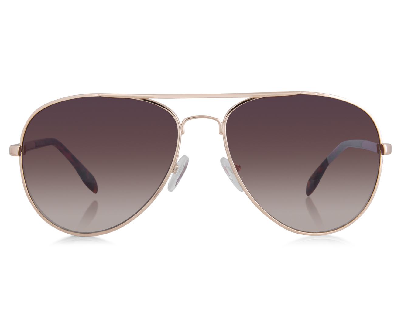 morrissey s golden eye sunglasses gold brown