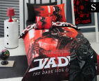 Star Wars Darth Vader Single Bed Quilt Cover Set - Red 1