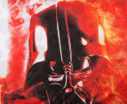 Star Wars Darth Vader Single Bed Quilt Cover Set - Red 2