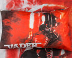 Star Wars Darth Vader Single Bed Quilt Cover Set - Red 3