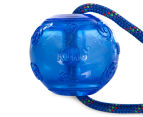 KONG Rope Squeezz Dog Toy - Blue 2