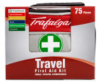Trafalgar 75-Piece Travel First Aid Kit + Instant Ice Pack 3