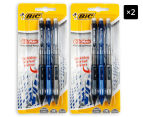 2 x BiC Clic-Matic Mechanical Pencil 3-Pack - Multi/Check 1