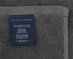 Ralph Lauren 33x33cm Palmer Wash Towel - Grey 2
