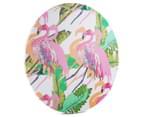 Cooper & Co. 60cm Round Canvas Wall Art - Flamingo 2