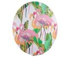 Cooper & Co. 80cm Round Canvas Wall Art - Flamingo 2