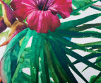 Cooper & Co. 80cm Round Canvas Wall Art - Tropical 4