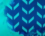 Cooper & Co. 60cm Round Canvas Wall Art - Blue Arrows 4