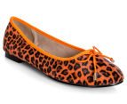 Carla Milani Women's Ivanka Shoe - Orange 2