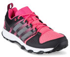 Adidas Women's Galaxy Trail Shoe - Bahia Pink/White/Ray Pink 2