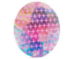 Cooper & Co. 60cm Round Canvas Wall Art - Pink Crosses 2