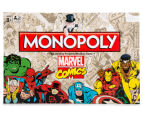 Marvel Comics Monopoly Board Game 1