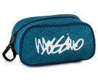 Mossimo Fern Script Toiletry Bag - Navy/Teal 1