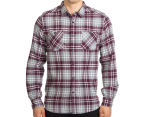 Mossimo Men's Michael Long Sleeve Shirt - Burgundy 2