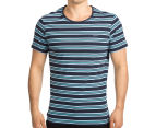 Mossimo Men's Standard Issue Bryce Scoop Tee - Navy 2