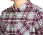 Mossimo Men's Michael Long Sleeve Shirt - Burgundy 6