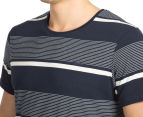 Mossimo Men's Standard Issue Dustin Crew Tee - Navy 6