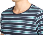 Mossimo Men's Standard Issue Bryce Scoop Tee - Navy 6