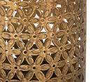 Small Vintage Look 29cm Lantern - Antique Gold 4