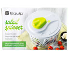 Equip Salad Spinner - White/Green 1