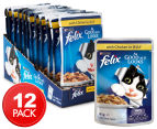 12 x Purina Felix As Good As It Looks Chicken 85g 1