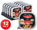 12 x Purina Supercoat Classic Loaf Chicken for Adult Dogs 100g 1