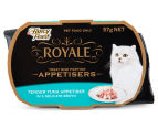 10 x Fancy Feast Royale Appetisers Tuna 57g 2