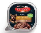 12 x Purina Supercoat Classic Loaf Kangaroo for Adult Dogs 100g 2