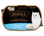 10 x Fancy Feast Royale Appetisers Chicken 57g 2