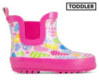 Hearts Girls' Rainboot - Pink 1