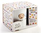 Koolface Old Fart Emoji Mug - White 4