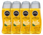 4 x Cussons Pure Effects Wake Up Body Wash Lemon & Ginger 250mL 1
