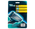 Gillette Mach3 Manual Razor + Blades 8pk 2