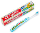 Colgate My First Toothbrush & Toothpaste Starter Kit - Blue 3